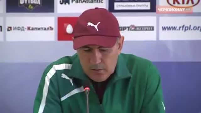 Пресс-конференция Курбана Бердыева