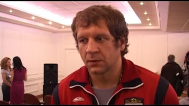 Интервью с Александром Емельяненко