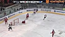 """Видео.5-1 Захаров (""""Донбасс"""") отыгрывает одну шайбу"""