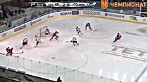 """Видео.3-0 Новотны (""""Лев"""") забрасывает шайбу"""