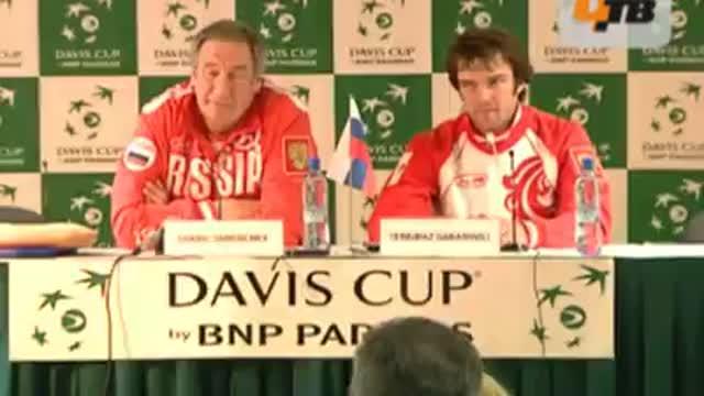 Т.Габашвили: с красными глазами, может, и порвал