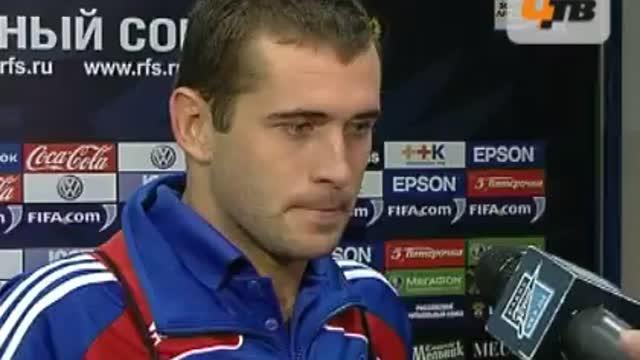 А.Кержаков: особой возможности забить не было