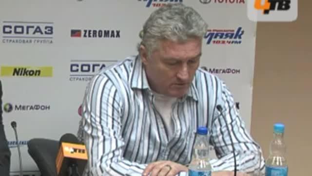 М.Ржига: надеюсь, завтра будет матч почестнее