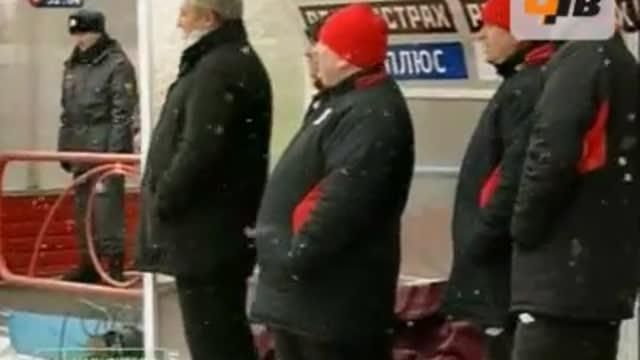 "Опасный момент у ворот ""Сибири"""