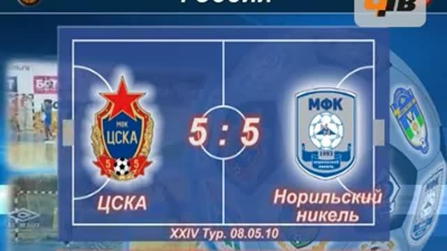 """ЦСКА - """"Норильский никель"""" 5:5"""