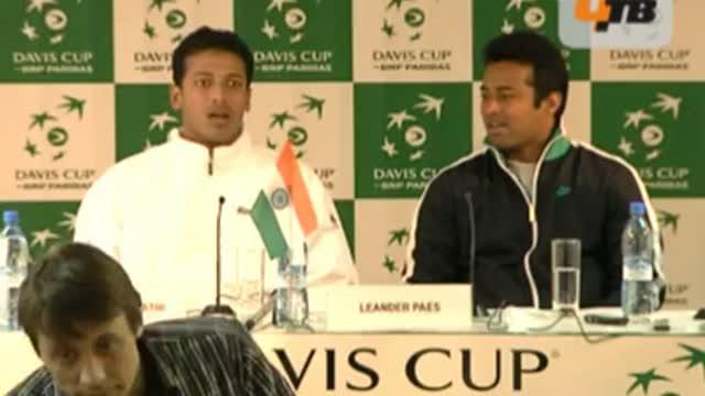 Пресс-конференция сборной Индии. Часть 1