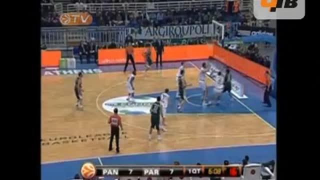 """""""Панатинаикос"""" – """"Партизан"""" 59:64"""