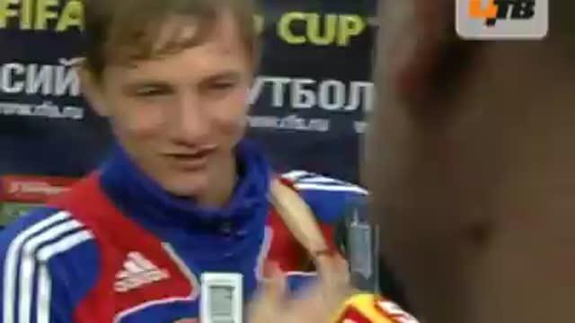 Р.Павлюченко: играть активно, быстрей забить.