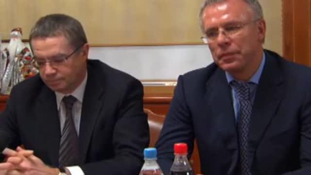 Медведев и Фетисов о проблемах КХЛ (3 часть)