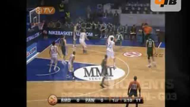 """""""Реал"""" — """"Панатинаикос"""" 80:70"""