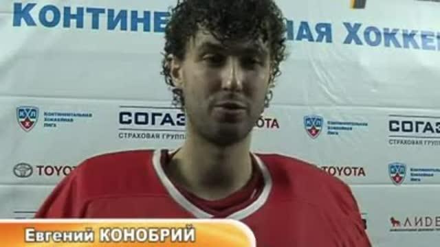 """Евгений Конобрий: """"Я чувствовал поддержку!"""""""