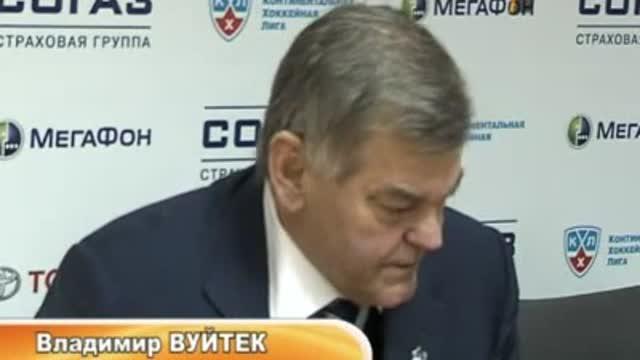 Пресс-конференция Владимира Вуйтека