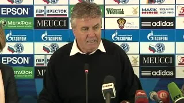 Гус Хиддинк: «Акинфеев спас матч»