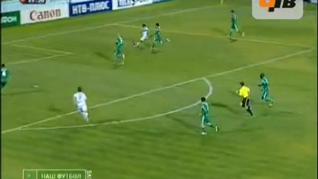 Семшов открывает счёт в матче