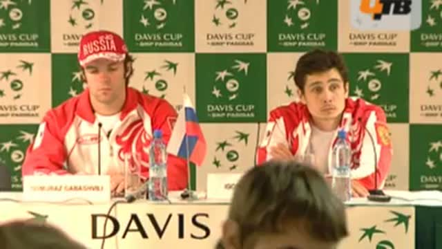 Пресс-конференция сборной России. Часть 1