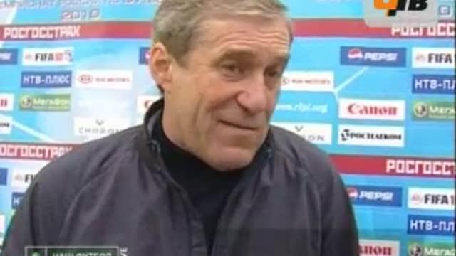 Послематчевые интервью тренеров команд