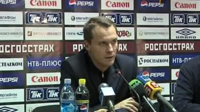 Пресс-конференция Андрея Кобелева