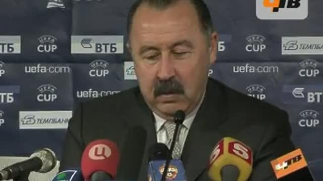 Газзаев: мы тщательно подошли к этому матчу