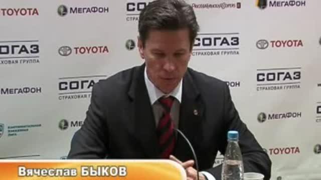 Пресс-конференция В.Быкова