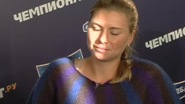 В.Звонарева:я теннистка, а не калькулятор