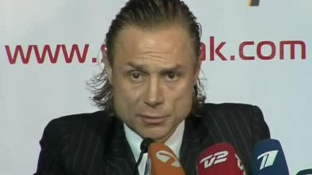 Пресс-конференция Валерия Карпина