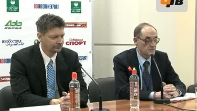 Пресс-конференция В.Быкова и Ю. Ялонена (часть 1)