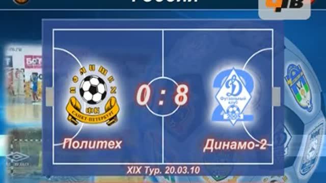 """""""Политех"""" - """"Динамо-2"""" 0:8"""