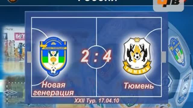 """""""Новая генерация"""" - """"Тюмень"""" 2:4"""