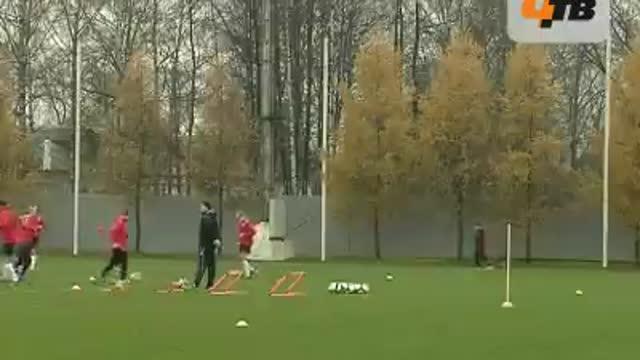 Тренировочное занятие в Тарасовке.