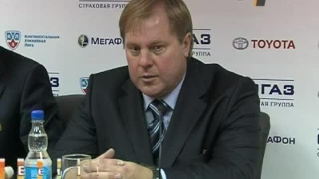 Пресс-конференция Е.Попихина