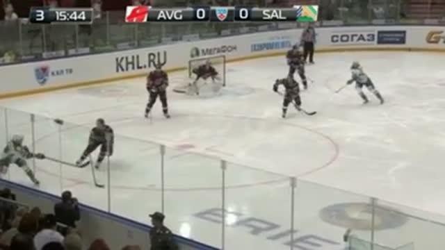 '45., 0:1. Трубачёв открывает счёт