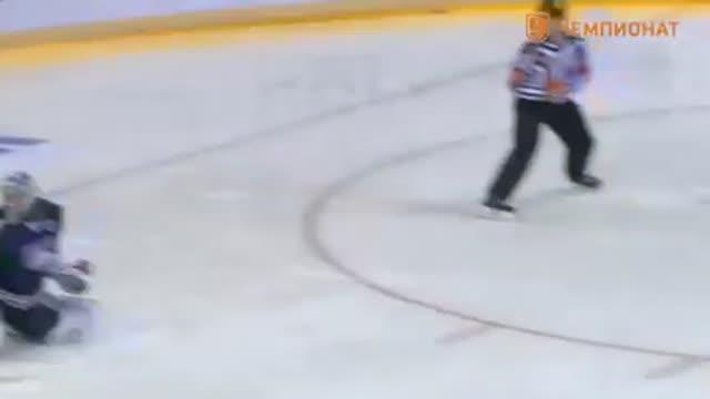 Видео. Обзор второго периода матча