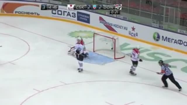 '46., 3:2. Мяэнпяя забивает шайбу в ворота соперников