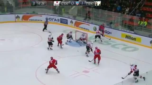 45:37 1:1 Денисов сравнивает счёт в матче