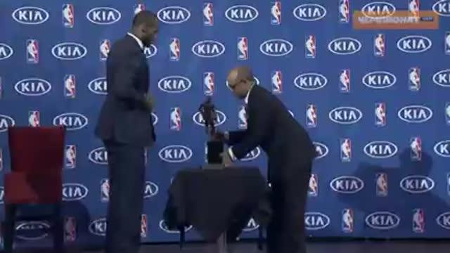 Леброн Джеймс – MVP регулярного чемпионата НБА