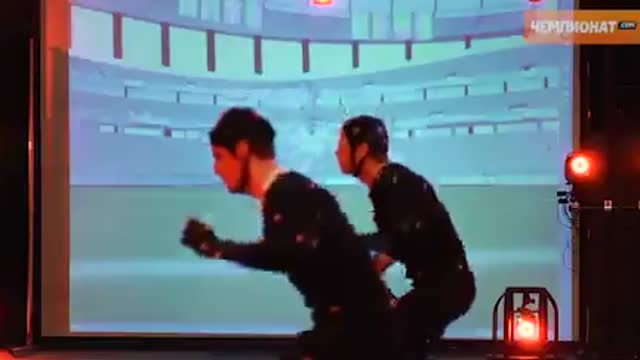 Система Motion Capture в FIFA 13