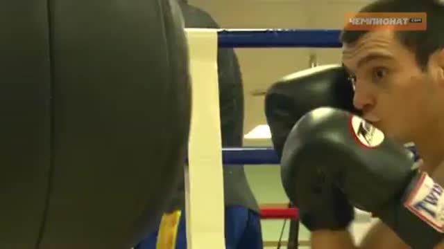 Тренировка сборной России по тайскому боксу