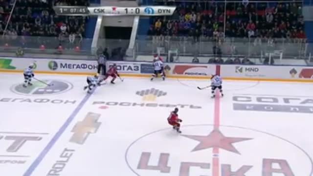Видео. 2:0 Зубов (ЦСКА) удваивает счёт в матче