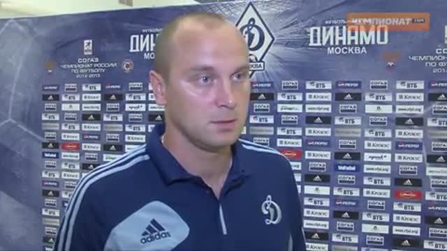 Хохлов: я сильно волновался перед началом матча