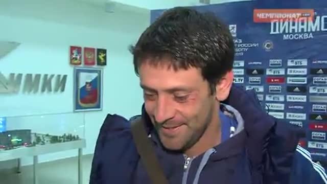 Фернандес: выиграли благодаря контролю мяча