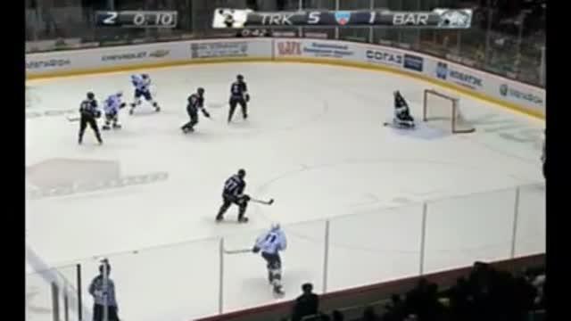 """Видео. 5:2 Савченко (""""Барыс"""") сокращает разницу в счёте"""