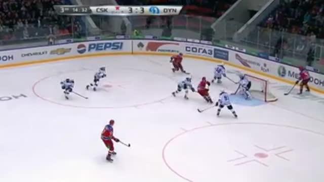 Видео. 4:3 Прохоркин (ЦСКА) оформляет хет-трик