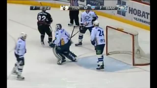 """Видео. 1:1 Кузнецов (""""Трактор"""") сравнивает счёт"""