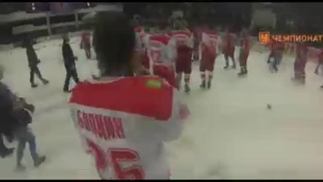 МХК Спартак стал обладателем Кубка Харламова