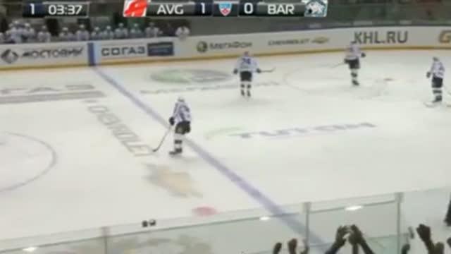 '17., 2:0 Андрей Таратухин увеличивает разницу в счёте
